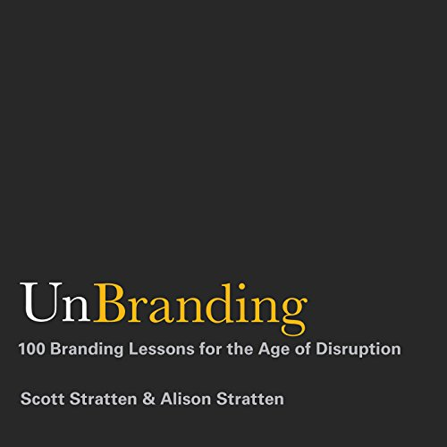 UnBranding audiobook cover art