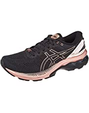 ASICS Gel-Kayano 27 Platinum, Road Running Shoe Donna