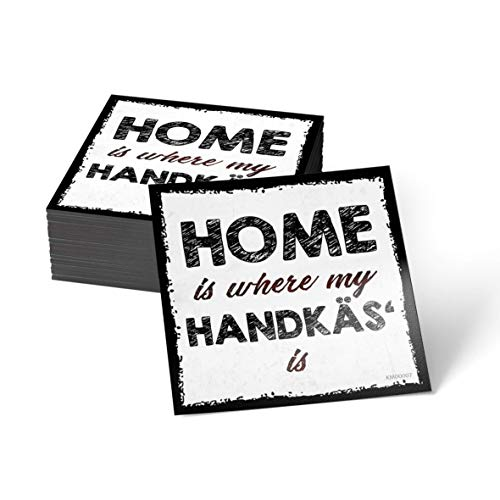 how about tee Home is Where My Handkäs' is - Mainz - Frankfurt - Kühlschrank- / Whiteboard-Magnet
