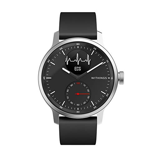 Withings ScanWatch - Reloj inteligente híbrido con ECG, ten