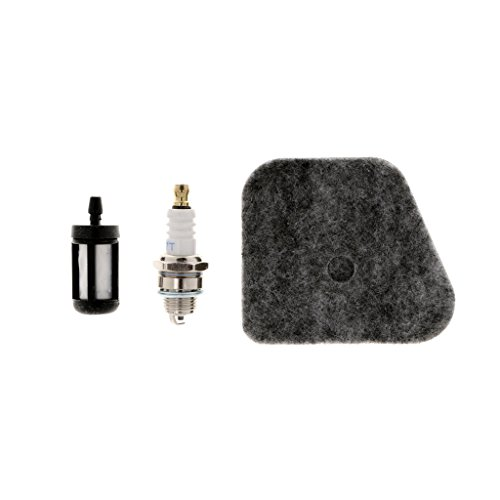 3pcs Tune Up-Kit Luftfilter Kraftstofffilter Zündkerze für STIHL FS90 Fs90r Fs100rx Fs110r Fs130r HL90 HL100 KM100 Km130