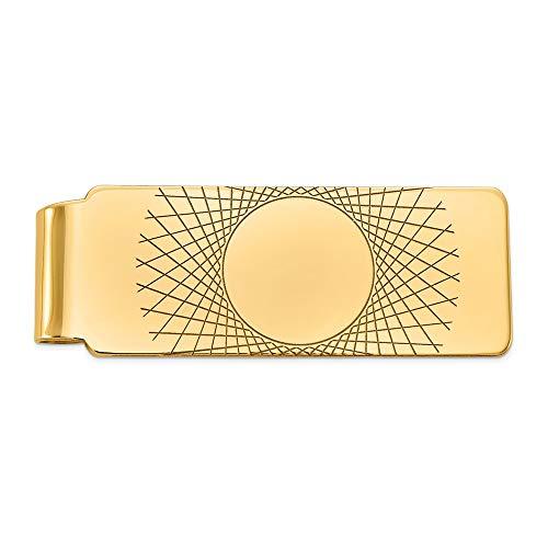 Diamond2Deal Geldklammer 14 Karat Gelbgold