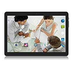 Image of Android Tablet 10 inch,3G Unlocked Phablet with Dual sim Card Slots and Cameras,Tablet PC with WiFi,Bluetooth,GPS: Bestviewsreviews