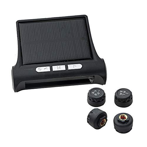 タイヤ 空気圧センサー タイヤ空気圧 モニター USB充電 TPMS 4外部センサー 温度 即時 監視