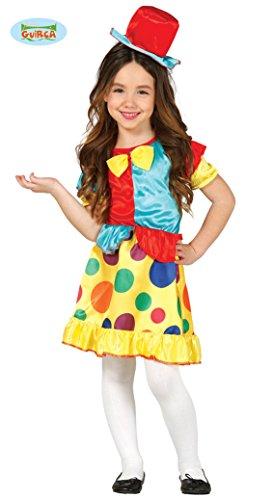 Disfraz de payasita chic para niña - 5-6 años