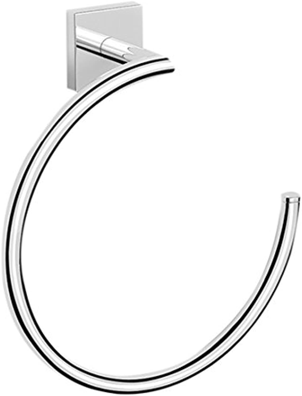 Nameeks NNBL005 Nice Hotel Polished Towel Ring, Chrome