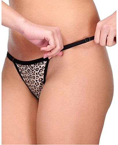 FIMS - Fashion is my style Women's Satin G-String & Bikini (Pack of 2) (B07B2KT5MP-Multicolored-Free Size)