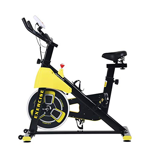 upright exercise bike cycling home