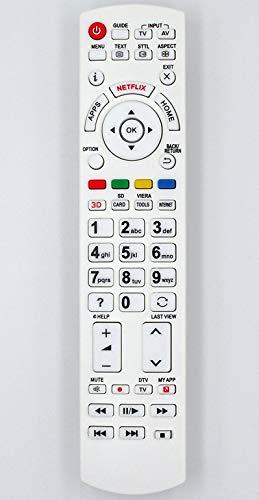 Ersatz Fernbedienung for Panasonic TV N2QAYB000928