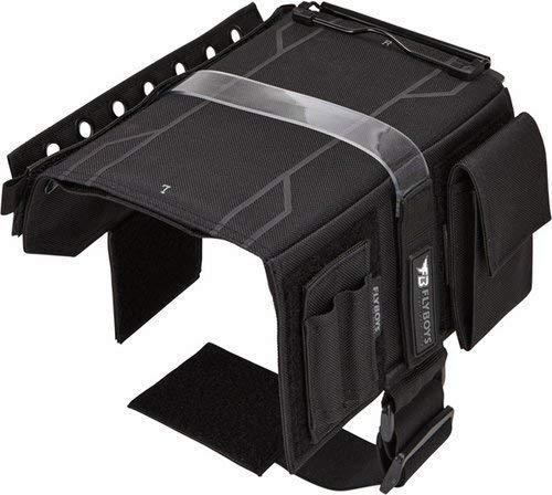 Flyboys - Reversible Kneeboard with Clipboard, Black | FB3316BLK