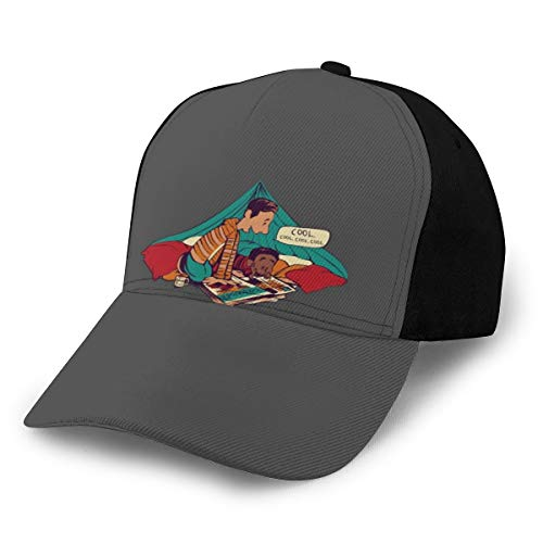 N/ Troy and Abeds Dope Adventures - Gorra de béisbol, color negro