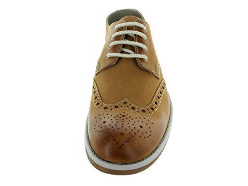Clark's Men's Farli Limit Tan Oxford Shoe 10 Men US