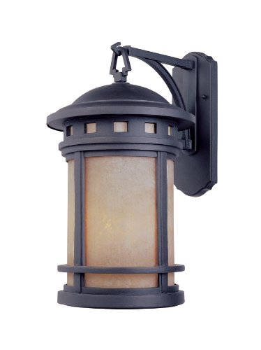 Designers Fountain 2371-AM-ORB Sedona 7″ Wall Lantern, Oil Rubbed Bronze