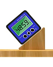 iFCOW Digitale Inclinometer Protractor Waterdicht Precise 4X 90° Level Box Hoek Finder Bevel Gauge met Magnetische Basis en Backlight