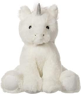 Apricot Lamb Toys Plush White Unicorn Stuffed Animal Soft Cuddly Perfect for Child (White Unicorn ,8 Inches