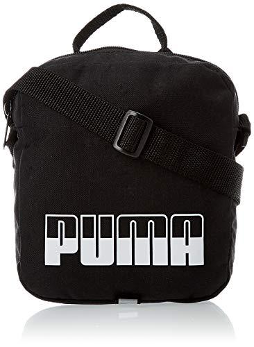 Puma Plus Portable II - Borsone sportivo, taglia unica, colore: Nero