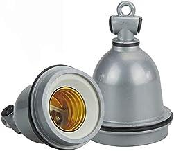 2 Packs E27 Warmte Lamp Accessoires Keramische Infrarood Waterdichte Warmte Lamp voor Reptiel Kip Huisdier Coops Broedwerk