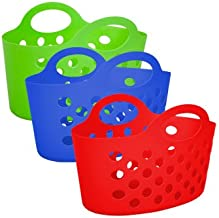 Best plastic beach tote with holes Reviews