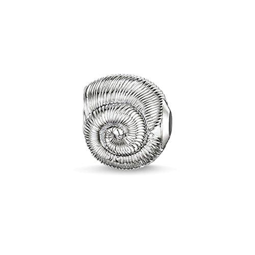 Thomas Sabo Damen-Bead Muschel Karma Beads 925 Sterling Silber K0150-001-12