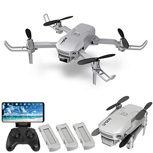 LNHJZ H1 RC Drone Mini Drone para niños Quadcopter Plegable con función Auto Hover Modo sin Cabeza Rotación de 360 ° One Key Takeoff Aterrizaje