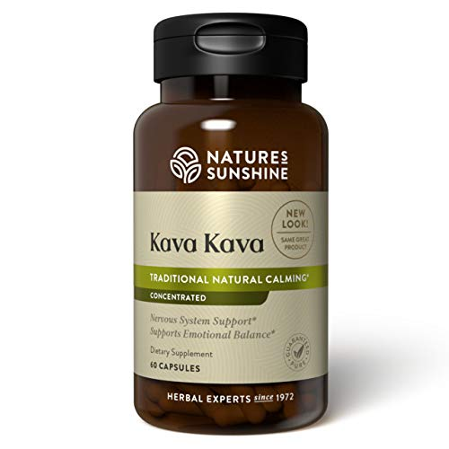 Nature's Sunshine Kava Kava Concentrate 60 Capsules