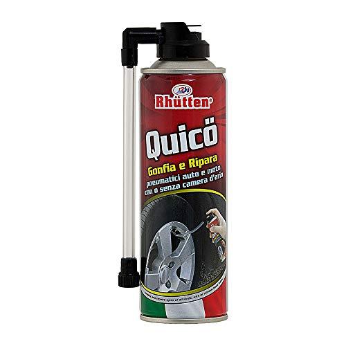Rhutten 280244 Quico Gonfia e Ripara Spray, 300 ml