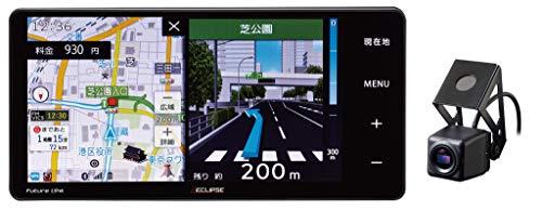 デンソーテン イクリプス(ECLIPSE) ドライブレコーダー内蔵カーナビ AVN-D10W 7型ワイド 地図更新無料 フルセグ+1セグ VICS WIDE SD CD DVD USB Bluetooth Wi-Fi トヨタ/ダイハツ車専用変換コード付 トヨタマップマスター地図搭載 DENSO TEN