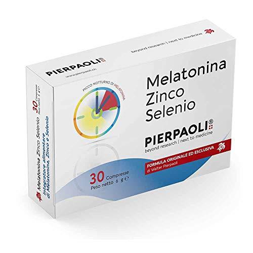 Pierpaoli Melatonina Zinco Selenio 30 Compresse