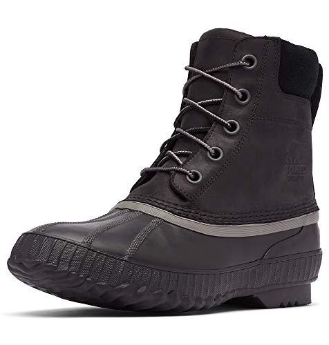 Sorel - Men's Cheyanne II Waterproof Insulated Winter Boot, Black, Black, 9.5 M US