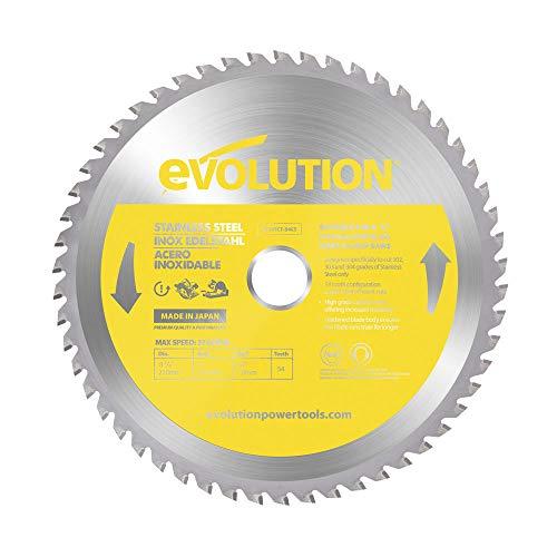 Evolution Power Tools S210TCT-54CS, acciaio inox, 210 mm