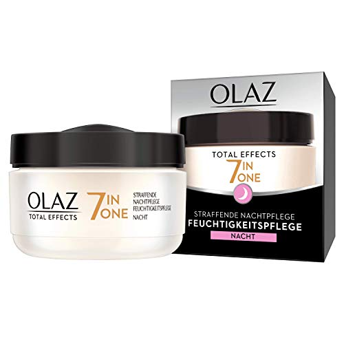 Olaz Total Effects Anti-Ageing Straffende Nachtpflege, 50 ml