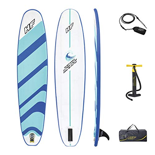 Bestway 65336 Hydro-Force aufblasbares Surfboard 243 x 57 x 7 cm, Color