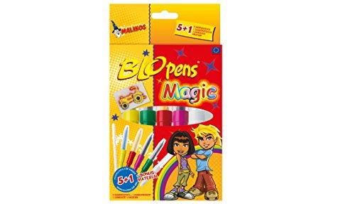 MALINOS 300965 Stifte Airbrush Magic 5+1, 6er Set