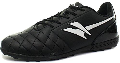 Gola Rey Vx Herren Fußballschuhe, Noir (Black/White), 43 EU