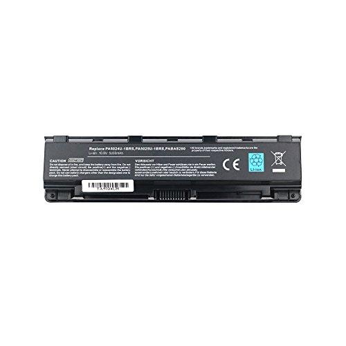 Exxact Parts Solutions New Laptop Battery for Toshiba SatelliteL850 C850,C855D,PA5023U-1BRS,PA5024U-1BRS,PA5025U-1BRS,PA5026U-1BRS,PABAS259[Li-ion 10.8V 5200mAh 6 Cell]