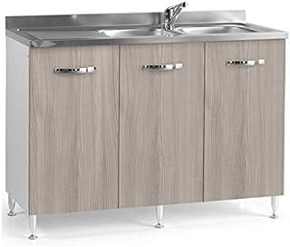 Amazon It Lavello Cucina Con Mobile