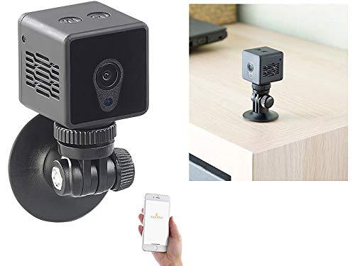 7links Kamera mit App: HD-Micro-IP-Überwachungskamera mit WLAN, Nachtsicht & App-Zugriff (Mini Camera App)