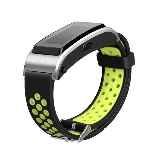 YGGFA Correa de Pulsera Pulsera Banda de Reloj para Huawei Talkband B2 B3 B5 B6 Pulsera Deportiva SmartWatch 15mm 16mm 18mm