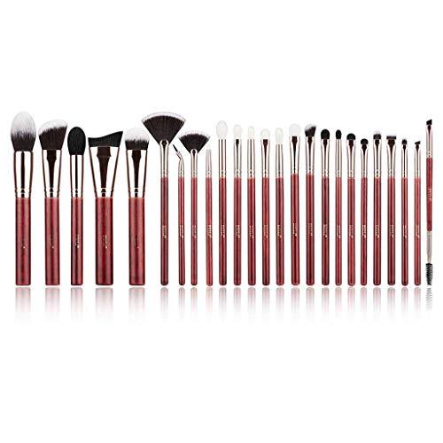 Pinceau de maquillage LHY- Honghuali 25 Set Doux Cheveux Professionnel Animaux Ensemble Complet de Poudre Pinceau Outils Haut de Gamme Mode