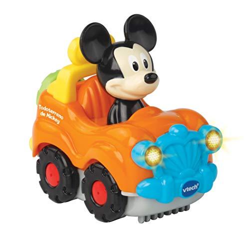 VTech- TutTut Bólidos Disney Todoterreno, Multicolor (TTB Mickey)