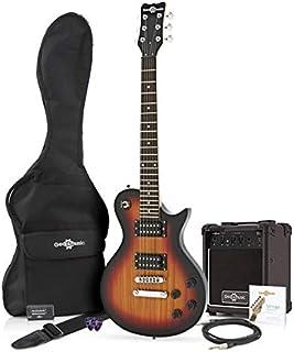 Guitarra Eléctrica New Jersey II 3/4 + Paquete de Amplificador de 10 W Sunburst