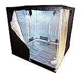 Green Lamp Premium 120 x 120 x 200cm 600D Mylar Indoor Grow Tent Box Hydroponics Dark Room