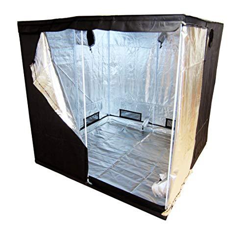 Green Lamp Premium 200 x 200 x 200cm 600D Mylar Indoor Grow Tent Box Hydroponics...