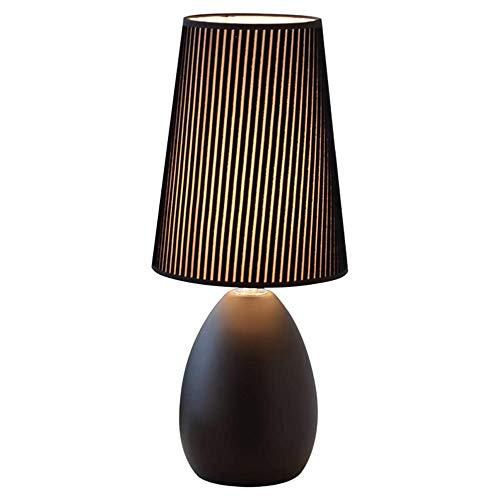 JIANGPENG Home LED kleine tafellamp slaapkamer nachtlampje woonkamer moderne minimalistische decoratieve tafellamp E27 smeedijzer fluweel lampenkap