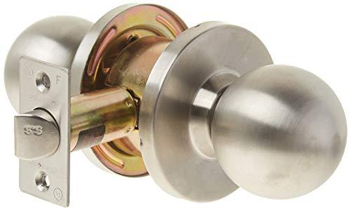 Master Lock BLC0432D Commercial Cylindrical Passage Ball Knob Lockset, Satin Chrome
