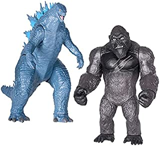 Godzilla vs Kong, versie Godzilla PVC Action Figure Collectible Model Collectible, gewrichten zijn beweegbaar, Kong Anime ...
