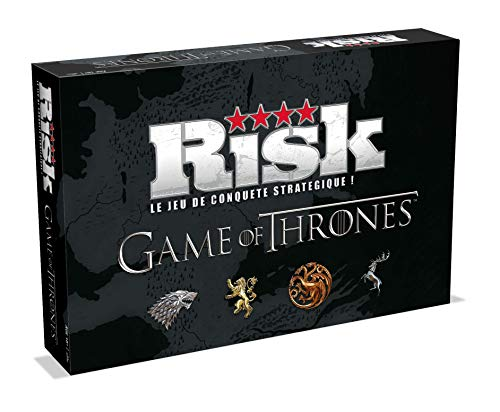 Winning Moves 080921 Game Of Thrones Board Game Risk Collectors Edition *French Version*, Età 18+
