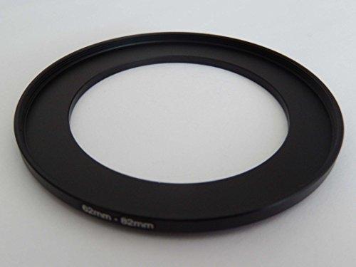 vhbw Adaptador de Filtro Step up 62mm-82mm Negro para cámaras Sony DT 18-135 mm D3,5-5,6 Sam (SAL-18135)