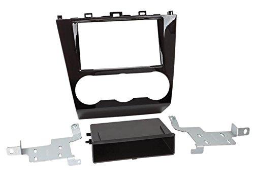 2DIN kit di installazione autoradio mascherina Radio Cavo di collegamento antenna Adapter Set completo per Subaru Forester SJ FACE Lift AB 03/2015piano black