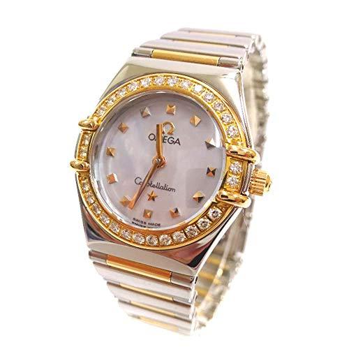 オメガ OMEGA コンステレーション マイチョイス ダイヤベゼル 1365.71 腕時計 コンビカラー レディース クオーツ シェル文字盤 [中古]